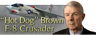 Hotdog Brown - F-8 Crusader